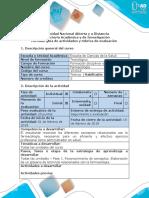 Guia de Actividades y Rubrica de Evaluacion - Unidades 1, 2 y 3 - Fase 1 Reconocimiento de Conceptos