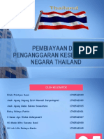 Penganggaran Dan Pembiayaan Kesehatan Di Negara Thailand