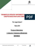 Joaquin Santos 1E 2015 Módulo II Principios de Mantenimiento