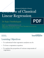 L1_Classical Linear Regression