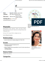 Amal Clooney - Astro-Databank by Astrodienst