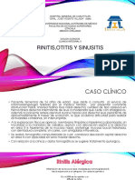Exposicion Rinitis, Otitis y Sinusitis
