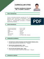 Curriculum Vitae Edegardo