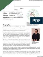 Al Pacino - Astro-Databank by Astrodienst