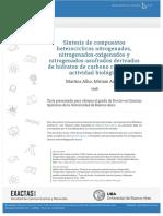 Martins Alho 1998. Síntesis de Compuestos Heterocíclicos Nitrogenados