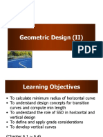 3 Geometric 2 - Traffic and Highway Engineering