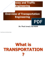 1 Introduction - Traffic and Highway Engineering