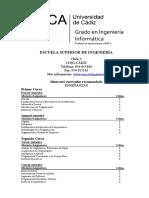 Malla Curricular Ingeniería Informática