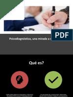 Psicodiagnóstico, Resumen