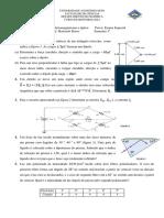 Exame Especial-eletromagnetismo e Óptica