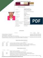 Curriculum María Chávez García