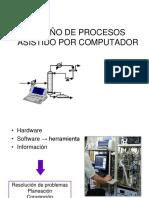 Diseño de Procesos Asistido Por Computador, Clase 4