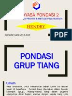 04 Pondasi Grup Tiang 2018-1