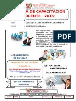 Comunicado-Capacitaciones 2019 - Copia (1)-1