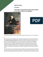 Paulo Freire - Antônimo de Amor