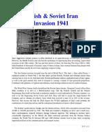 Mil Hist - British & Soviet Iran Invasion 1941