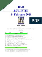 Bulletin 190214 (HTML Edition)