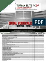2018 06 11 Edital Verticalizado ESCRIVÃO PCDF 2013
