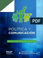 Política y Comunicación CLASE 2