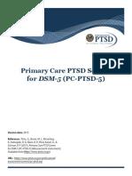 Primary Care PTSD Screen for DSM-5