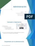 Administracion, Definicion y Tipos