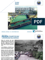 Convergence the Key to Successful River Restoration and Management Pasig River Philippines FINAL