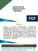 1.- CONCEPTOS DEADMINISTRACION