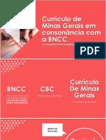 20180913 O Currículo de Minas Gerais Em Consonância Com a BNCC