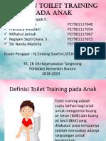 Latihan Toilet Training Pada Anak Kel.5