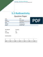 5.2 Radioactivity