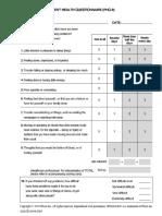 PHQ-9 Questionnaire