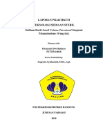 Revisi Laporan Praktikum Injeksi Suspensi Triamcinolone Acetonid