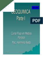 4. Geoquímica - Parte I
