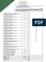List Equipment JC Periode 2018