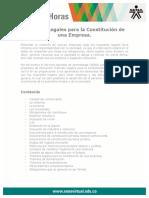 Tramites Legales Constitucion Empresa