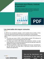 2.1 El Mercado Actual
