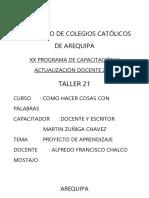 Alfredo Chalco m