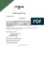 EMERGIA certificado