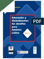 Globalización y políticas educativas