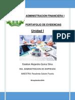 Administracion Financiera i Unnidad 1