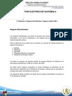 Cobertura Electrica Guatemala, DGE-MEM