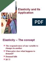Elasticity & Forecasting 3