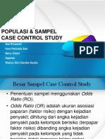 Ppt Sampel Case Control