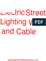 Electric Street Lighting Wire and Cable
