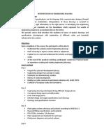 01 Interpretation of Engineering Drawing-Agenda