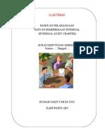 Ilustrasi Pedoman Pelaksanaan (InternalAudit Charter SPI)