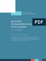 DASA DevOps Fundamentals Mock Exam 1