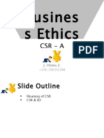 BUS3182BusinessEthics CSR A
