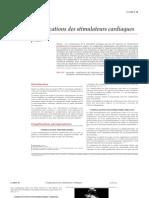 Complications Des Stimulateurs Cardiaques