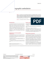 Coronarographie ambulatoire